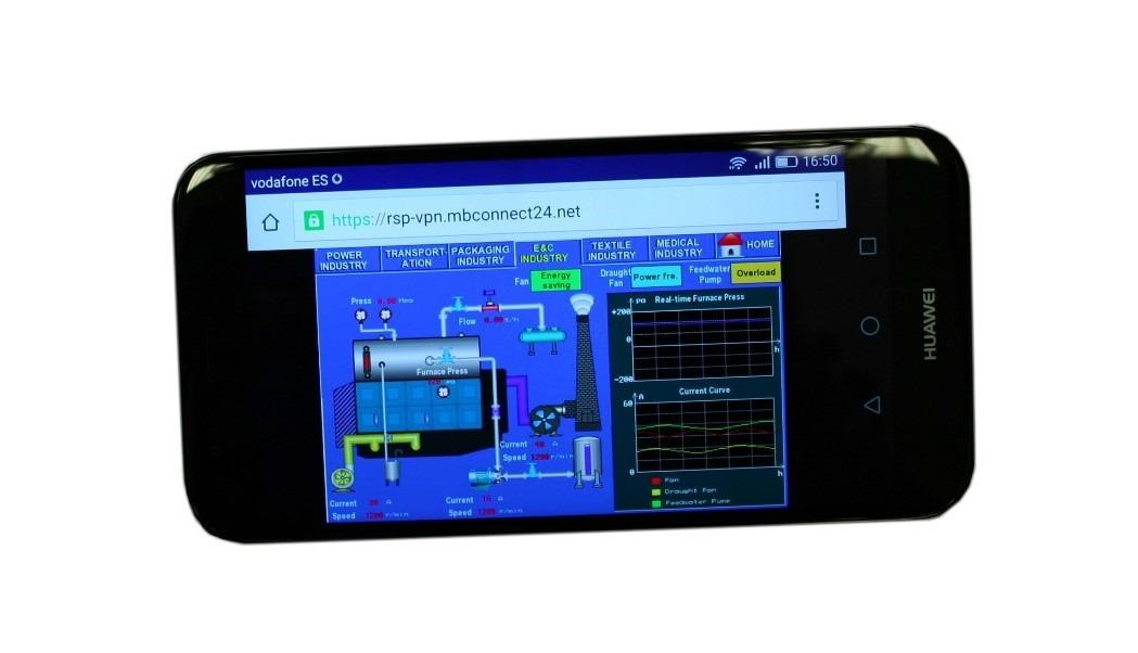 acceso móvil a mbconnect