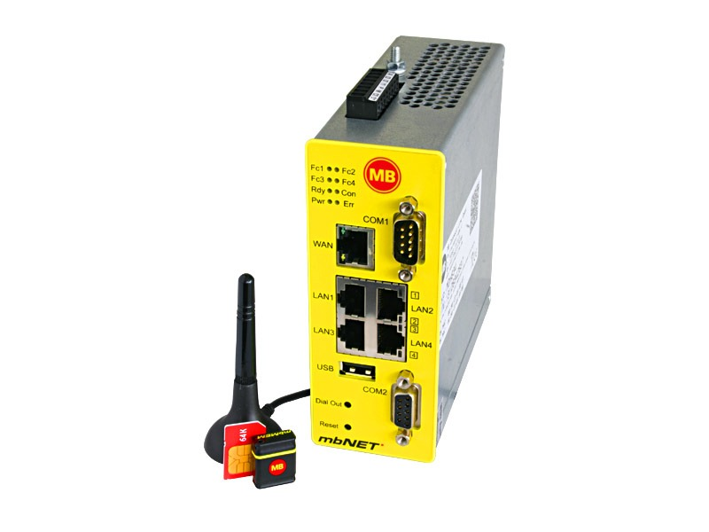 Acceso remoto router mbNET