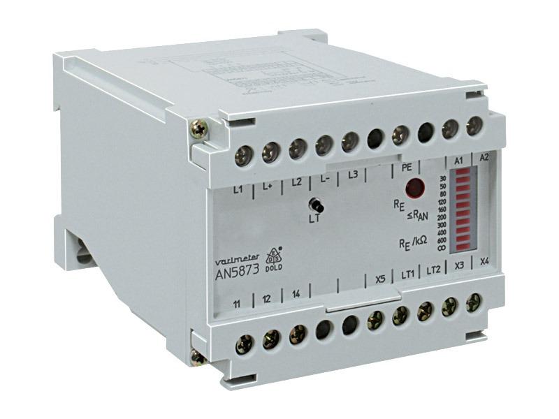 Monitores de aislamiento para sistemas mixtos AC, 3AC y DC, Serie AN5873
