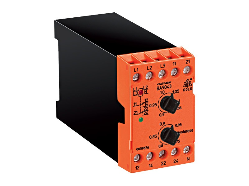 Monitores de variables eléctricas Serie BA 9043