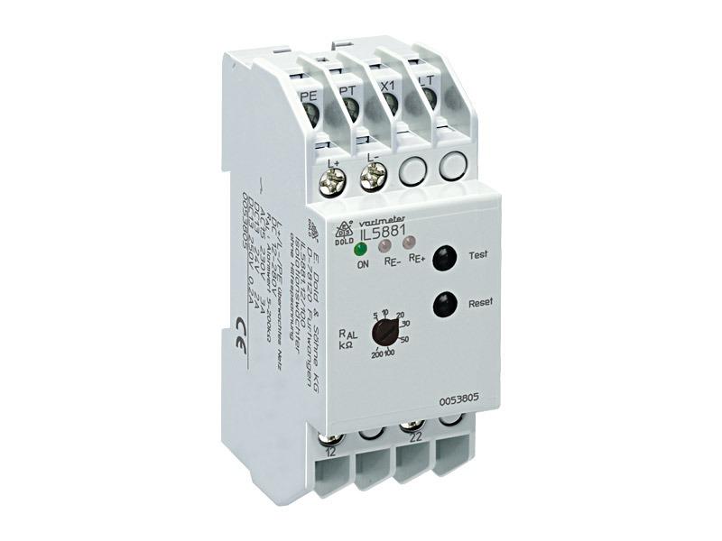 Monitores de aislamiento para sistemas DC sin tierra, Serie IL5881