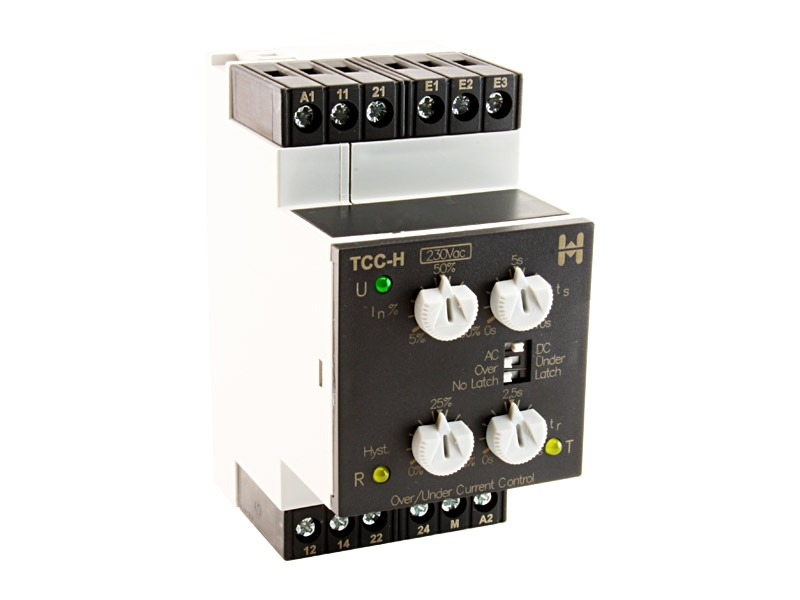 Intensidad AC/DC máx/min Serie TCC-H