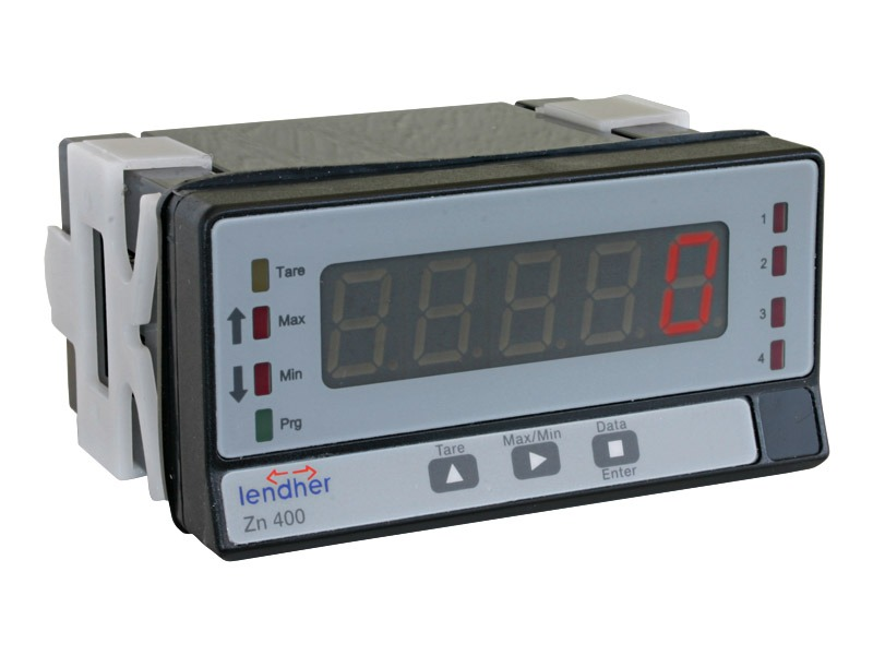 Visualizador de medidas eléctricas Serie ZN 400 E