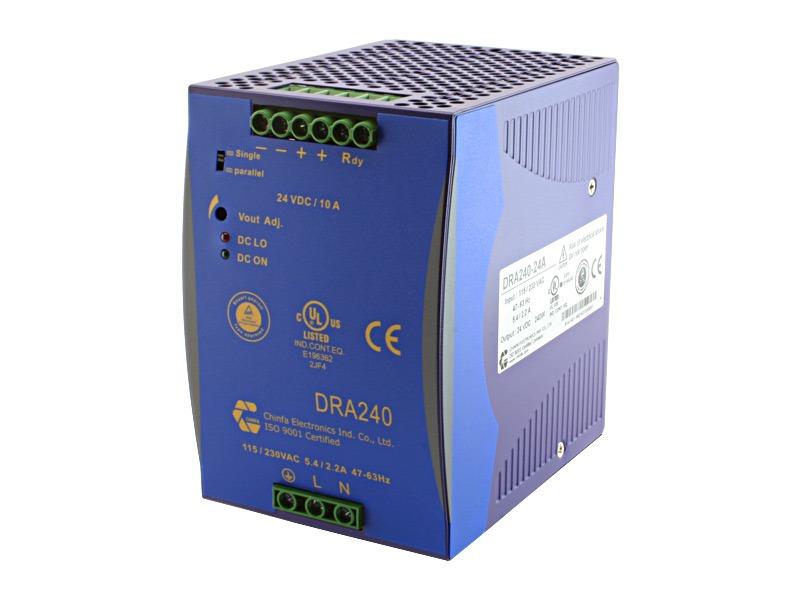 Monofásica para carril DIN Serie DRA 240 (240 W)