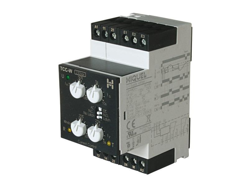 Intensidad AC/DC máx/min Serie TCC-W