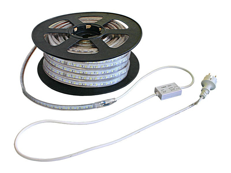 Tiras flexibles COB LED 5050 IP65 220 Vac Serie TF 14 W/m