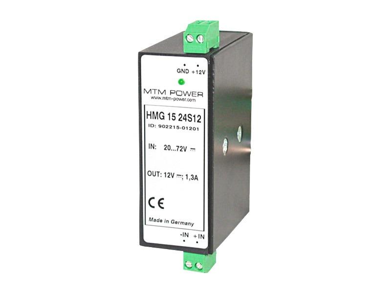 Fuentes para carril DIN Serie HMG (15W)