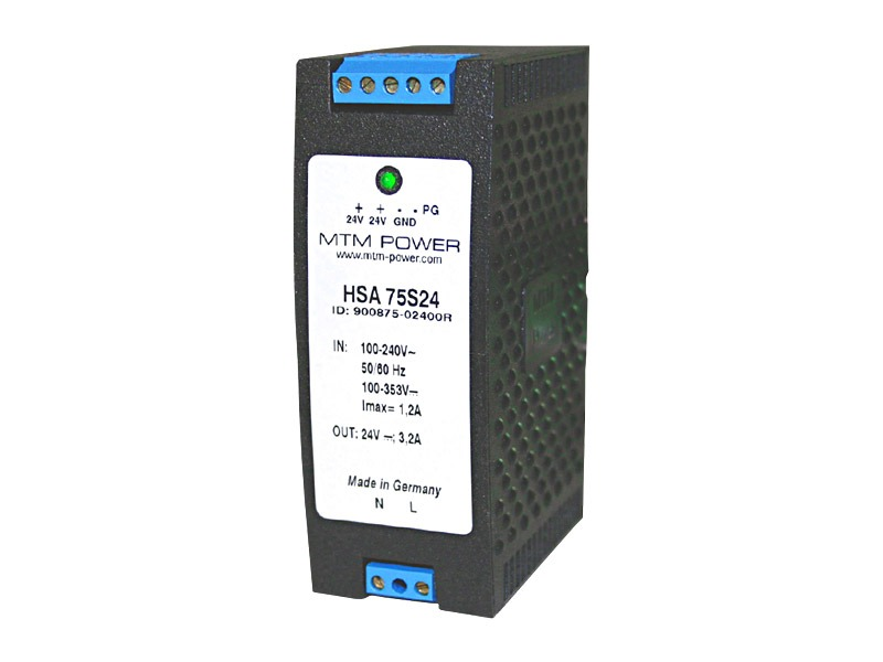 Fuentes para carril DIN Serie HSA (75W)