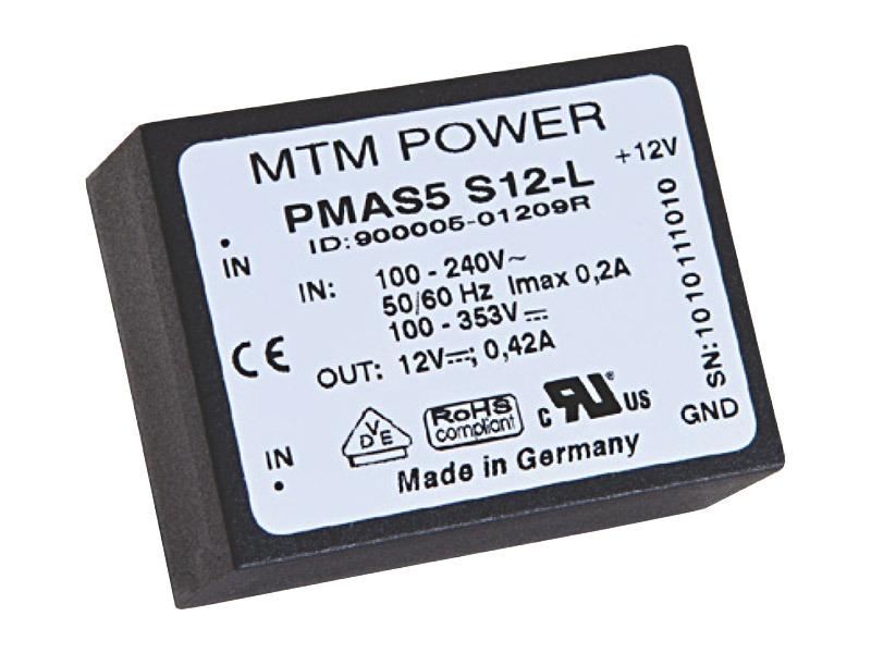 Fuentes PCB Serie PMAS horizontal   (5W)