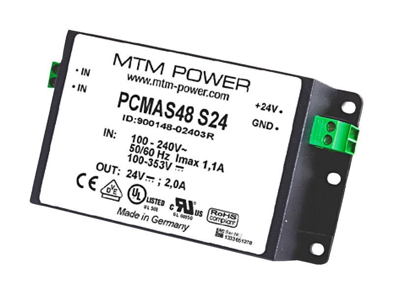 Fuentes PCB o fondo panel Serie PMAS/PCMAS (48W)