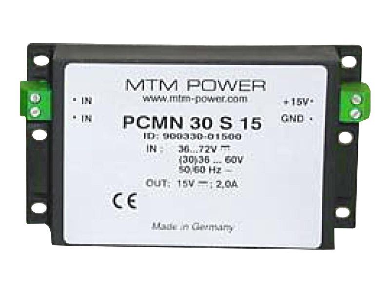 Fuentes bajo voltaje Serie PMN/PCMN (30W)