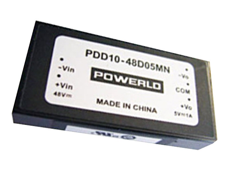 Conversores DC/DC estándar Serie PDD 10-D (10W)