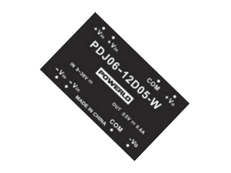 Conversores DC/DC estándar Serie PDJ 06-D (6W)
