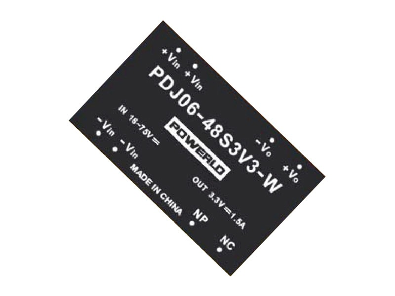 Conversores DC/DC estándar Serie PDJ 06-S (6W)