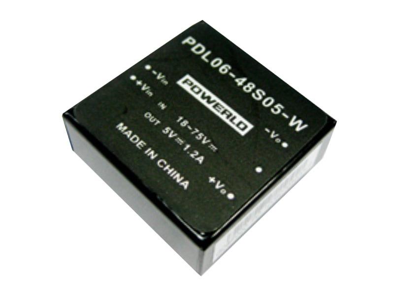 Conversores DC/DC estándar Serie PDL 06-S (6W)