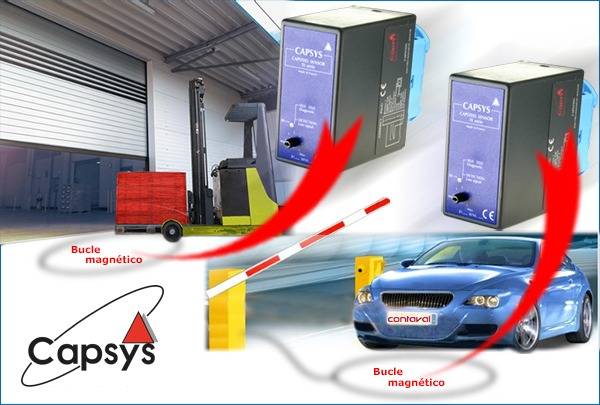 detección vehículos bucle magnético