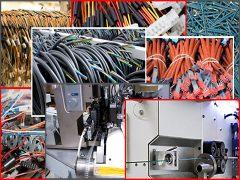 Fabricación de cableados industriales