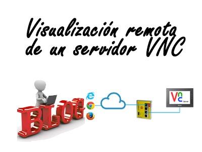visualizacion remota de un servidor vnc