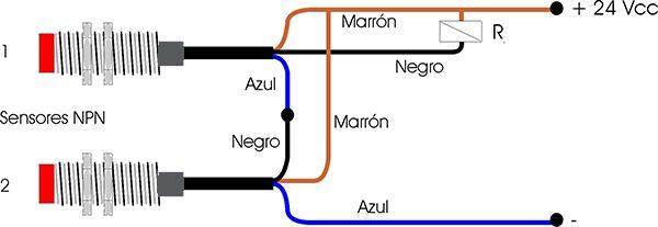 dos-sensores-npn-en-serie
