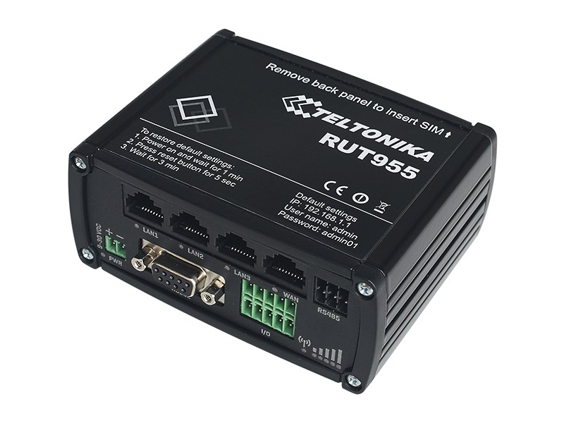 Router Industrial 4G RUT955